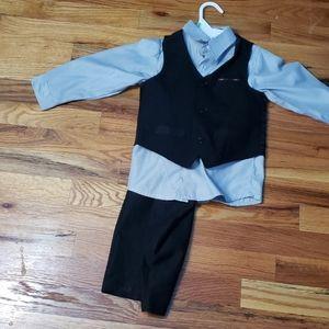 Toddler boy 3 piece suit